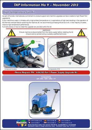 TAP 9 – High Temperature Fan Kit