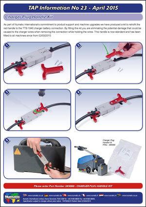 TAP 23 – Charger Plug Handle Kit