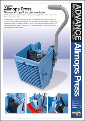 Allmops Press – Advance Product Information