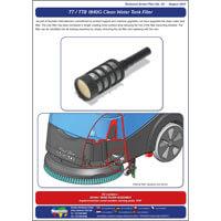 TAP 30 TT / TTB 1840G Clean Water Tank Filter Upgrade