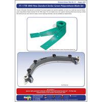 TAP 31 TT / TTB 1840 New Standard Serilor Green Polyurethane Blade Set