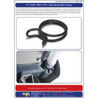 TAP 33 TT / TGB / TRO / TTV / CRO Spring Wire Clamp