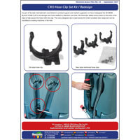 TAP 35 CRO Hose Clip Set Kit / Redesign