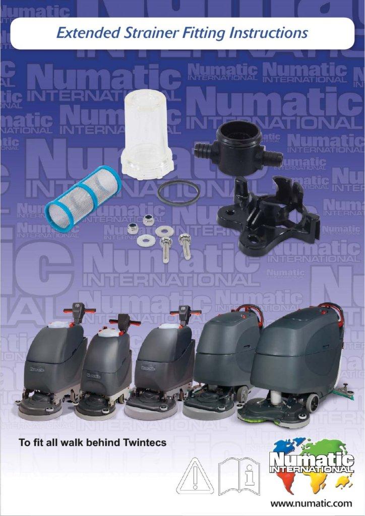 Extended Strainer Upgrade Kit