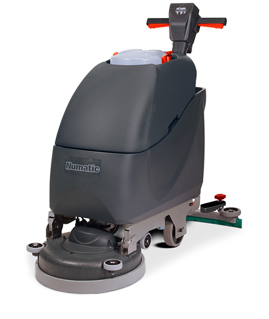 Walk-behind Scrubber Dryer